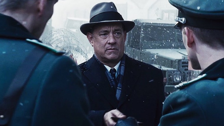 Tom Hanks under pressure in East Berlin
