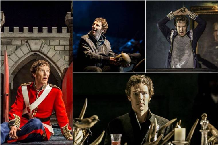 Hate, Depressed, Vengeful and Happiness are only a few of the emotions portrayed by Cumberbatch