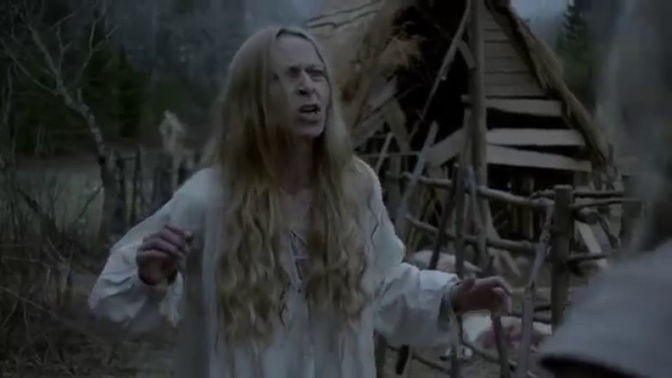 Katherine (Kate Dickie) as gone as mad as Lysa Arryn