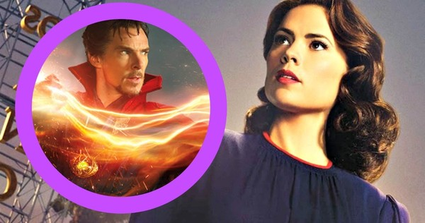 Agent Carter and Doctor Strange (Marvel Entertainment, ABC Studios)