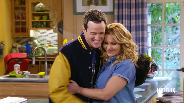 It's impossible to not love Scott Weigner's Steve (Fuller House, Netflix)