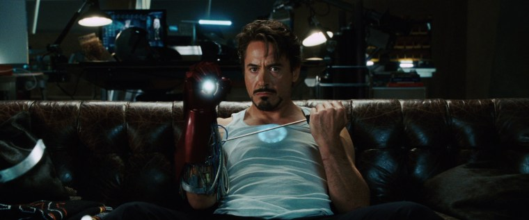 Robert Downey Jr as Tony Stark/Iron Man (Iron Man, Marvel Studios)