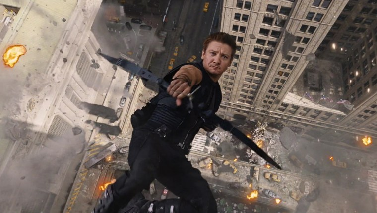 Hawkeye seems to be on top of things (Marvel's The Avengers, Marvel Studios)