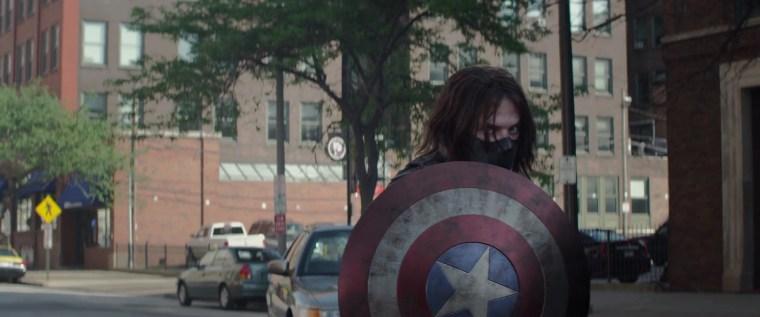 Bucky Barnes AKA The Winter Soldier (Sebastian Stan)  (Captain America: The Winter Soldier, Marvel Studios)