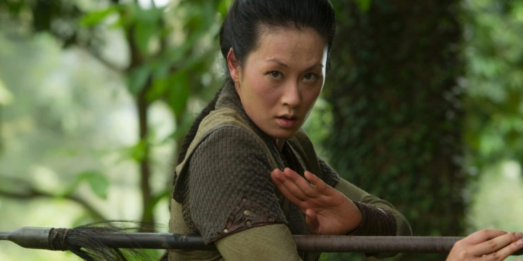 Mei-Lin another favourite of mine proves herself this season (Marco Polo, Netflix)