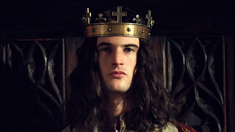 Tom Sturridge as the weakminded Henry VI (The Hollow Crown, BBC Two)
