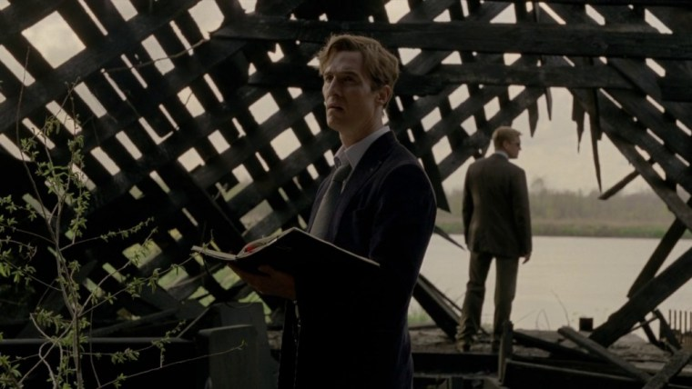 Matthew McConaughey's Det. Rust Cohle (True Detective, HBO)