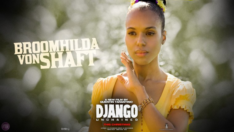 Kerry Washington As Broomhilda 'Hilde' Von Shaft (Django Unchained, The Weinstein Company)