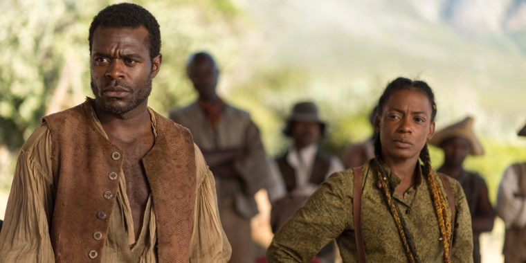 Chekura (Lyriq Bent) & (Ellis) (The Book Of Negroes, BET Network)
