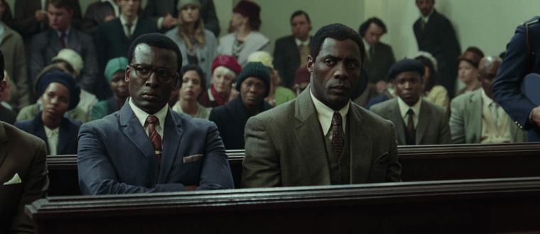Oliver Tambo (Tshallo Sputla Chokwe) & Nelson Mandela (Idris Elba) (Mandela: Long Walk To Freedom)