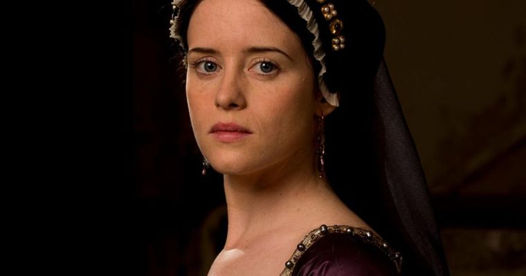 Claire Foy plays Anne Boleyn in BBC's Wolf Hall (Wolf Hall, BBC One)