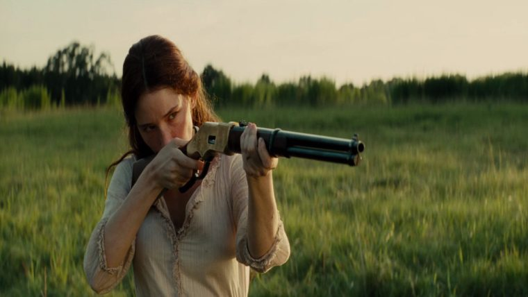 It has to be said, Emma Cullen is a total badass (Magnificent Seven, Sony Pictures)