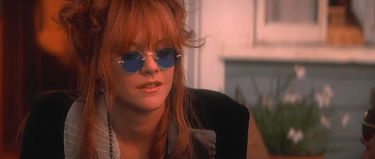 Morrison's girlfriend Pamela Courson (Meg Ryan) (The Doors, TriStar Pictures)