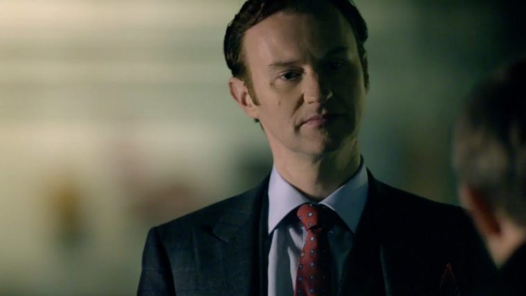 Mark Gatiss plays Mycroft Holmes who is Sherlock's equal in every way (Sherlock, BBC One)