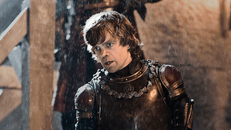 Tyrion Lannister (Peter Dinklage) at The Battle Of Blackwater (Game Of Thrones, HBO)