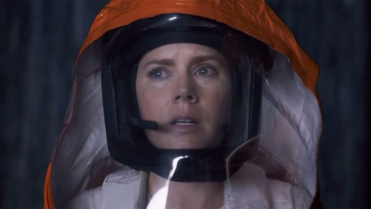 Professor Louise Banks (Amy Adams) in new science fiction movie Arrival  (Arrival, Paramount Pictures)