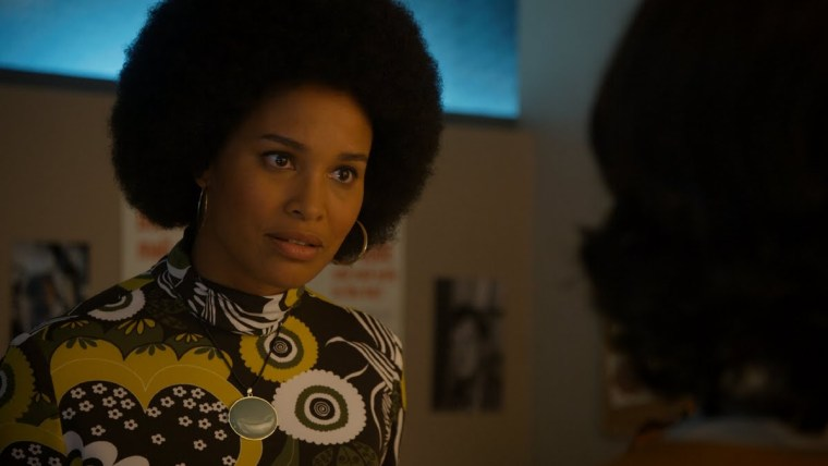 The girls' lawyer, Eleanor Holmes Norton (Joy Bryant) in Amazon Prime's historical feminist series
