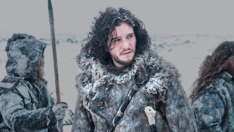 Jon Snow has fallen in with the Wildlings, even taking up their attire (Game Of Thrones, HBO)