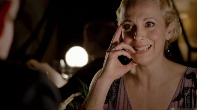 Mary Morstan (Amanda Abbington) in BBC's Sherlock (Sherlock, BBC One)