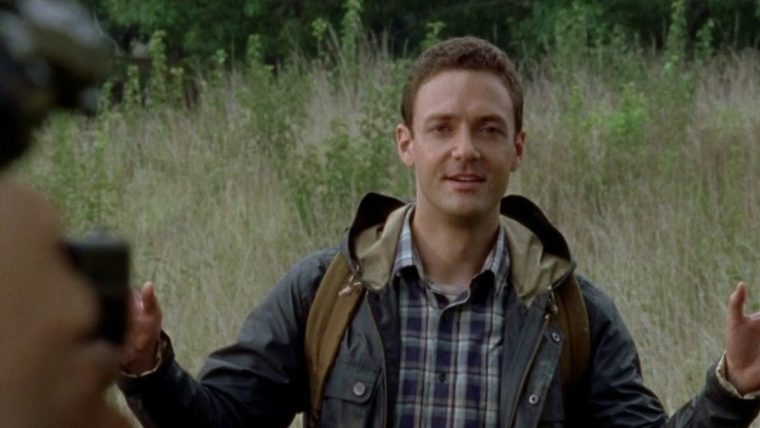 Alexandrian scout, Aaron (Ross Marquand) in The Walking Dead (The Walking Dead, AMC)
