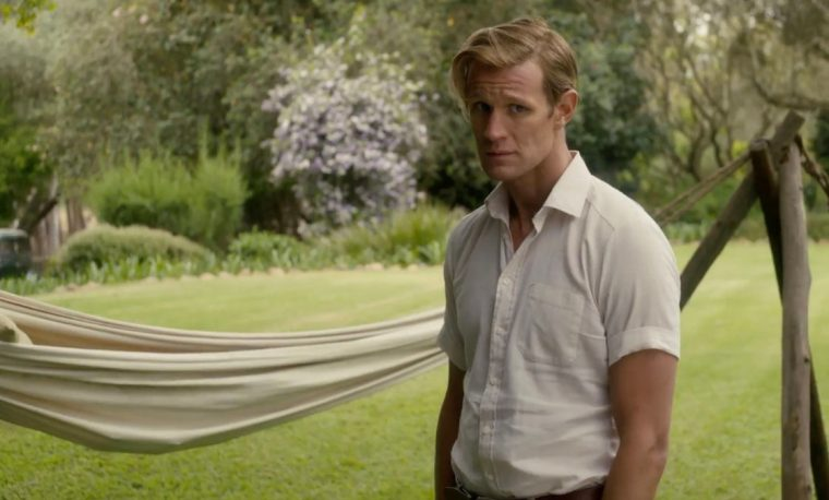 Philip Mountbatten (Matt Smith) after hearing about the death of his father in-law (The Crown, Netflix)