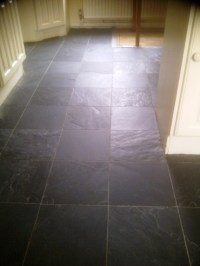 Cleaning and Sealing Kitchen Slate Tiles in Corby ...
