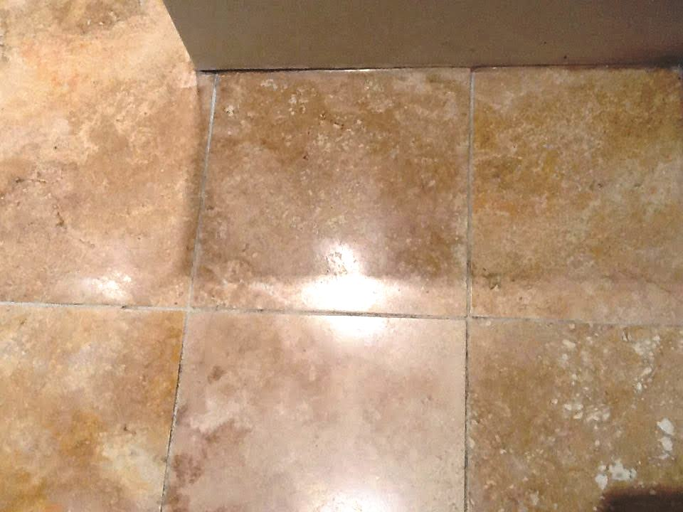 Deep Cleaning Grout Lines And Travertine Tiles Cleaning Tile