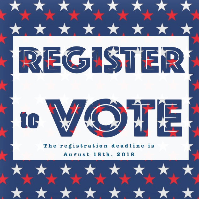 tell your neighbors less than a week left to register to vote in