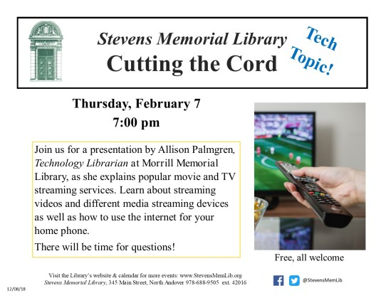 StevensMemLib Tech Topics Cutting the Cord Flyer.jpg