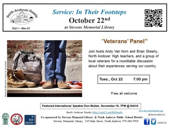 StevensMemLib NAR Veteran's Panel Flyer.jpg
