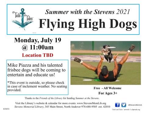 StevensMemLib flying high dogs Flyer.jpg