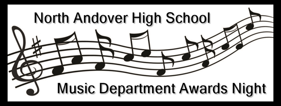 North Andover High School Music Department Awards Night