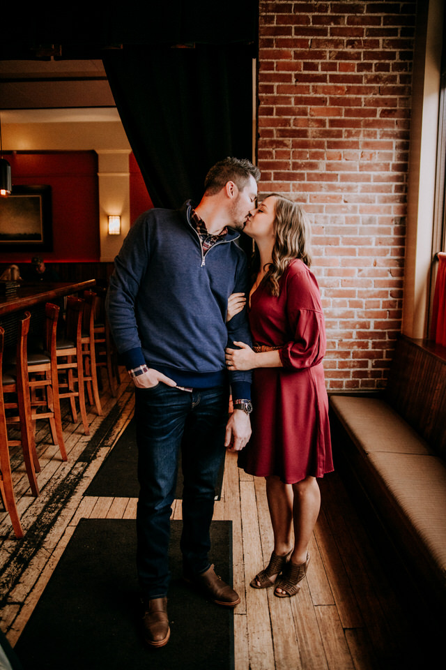 Jenny and Justin Engagement Session at Cleveland Heath in Edwardsville, IL and Watershed Nature Center by St Louis Engagement and Wedding Photographers North Arrow Creative