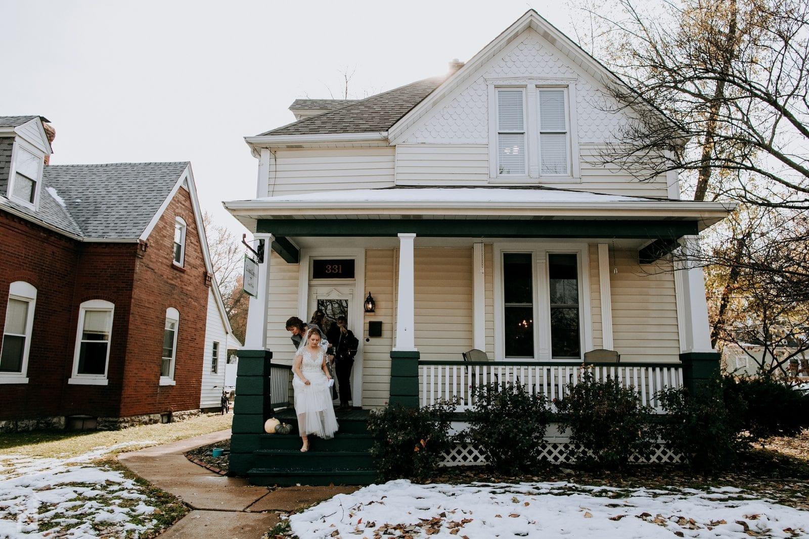 clark corner guest house in st. charles, Missouri