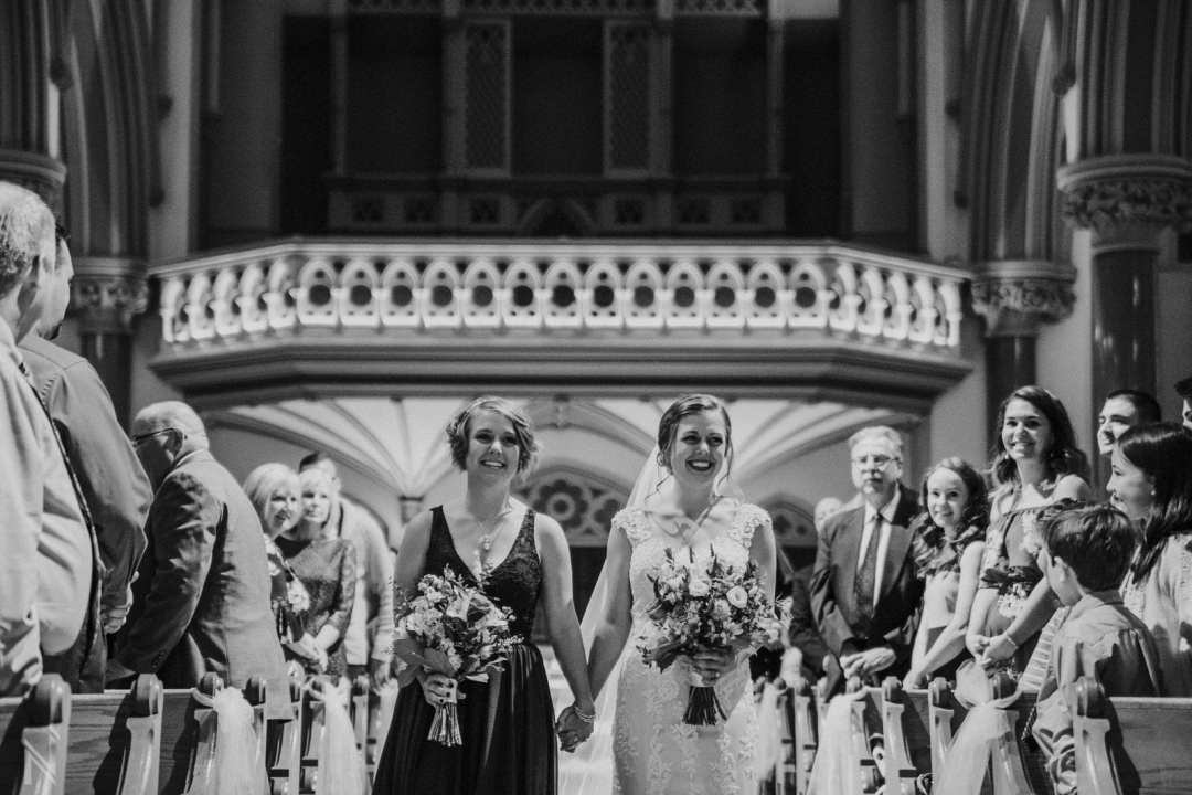 Wedding at St. Francis Xavier Church in St. Louis, MO