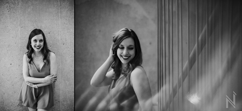 Womens portraits and headshots at Contemporary Art Museum