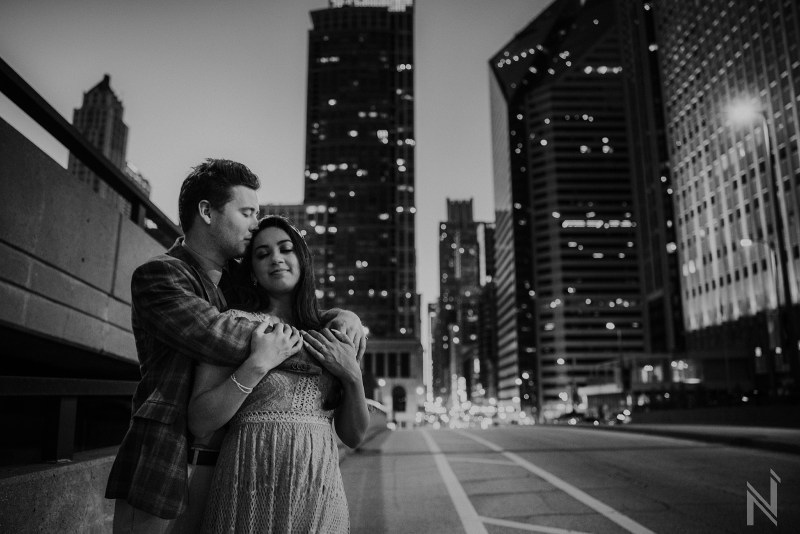 Chicago engagement photography at Lincoln Park by North Arrow Creative