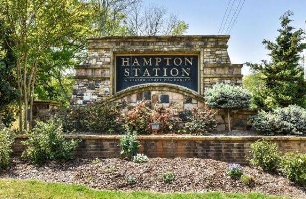 Hampton Station Canton Georgia Neighborhood