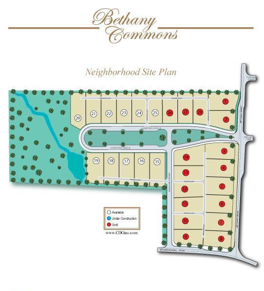 Bethany Commons Alpharetta Community Site Plan GA