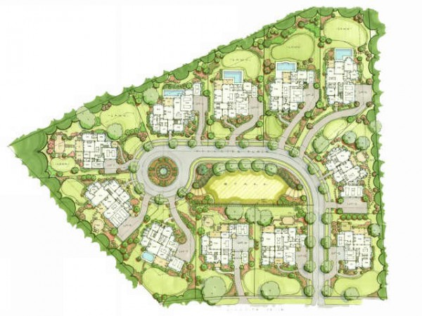 Chaistain Community Site Plan Georgia