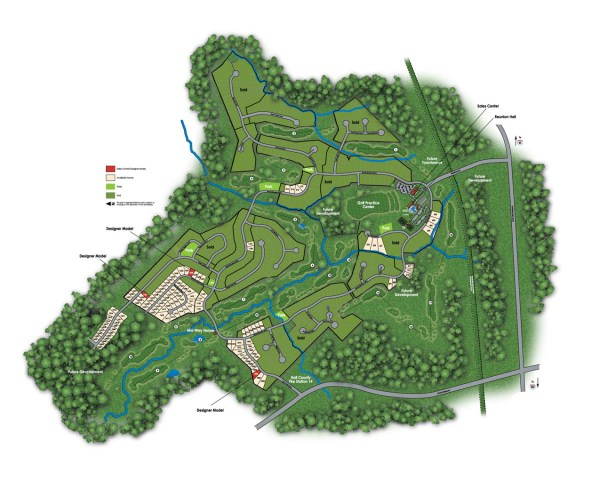 Hoschton Reunion Country Club Community Site Plan