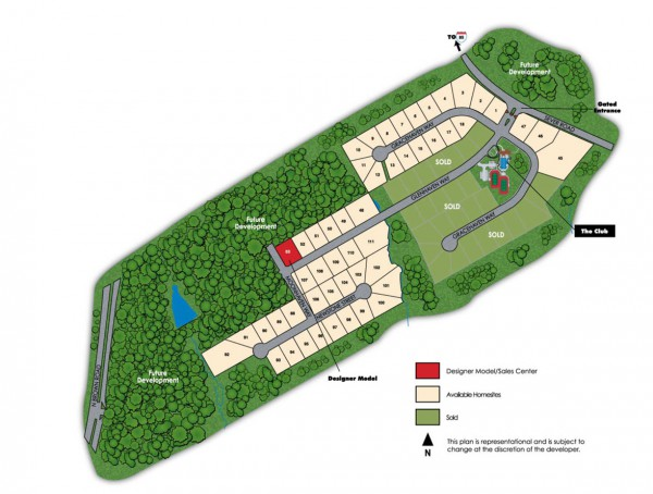 Stonehaven At Sugarloaf Community Site Plan