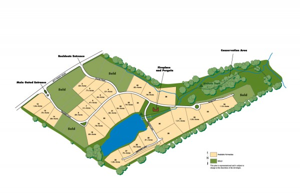 The Enclave At Jett Ferry Site Plan GA