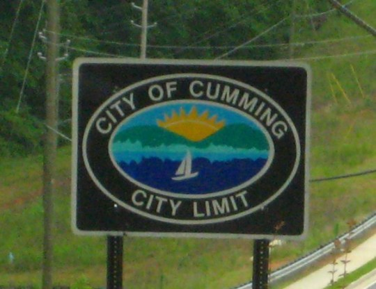 Around The City Of Cumming Georgia