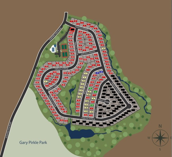 Sugar Hill Neighborhood Site Plan Barrington