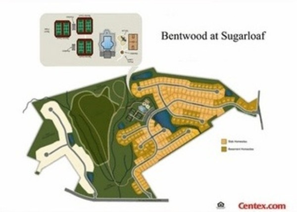 Centex Bentwood At Sugarloaf Site Plan