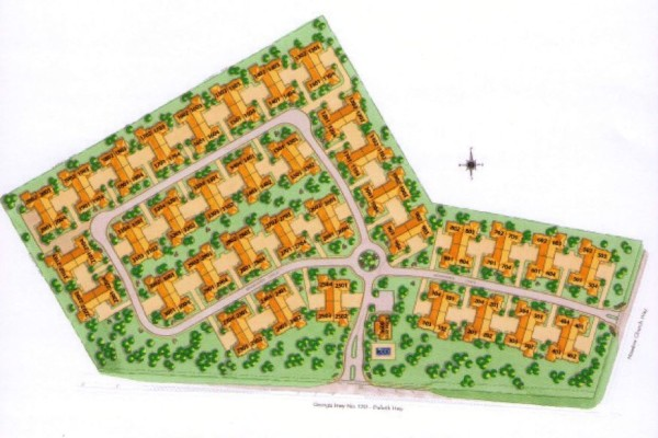 Neighborhood Site Plan Brookhaven At Sugarloaf