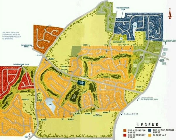 Acworth Brookstone Neighborhood Site Plan