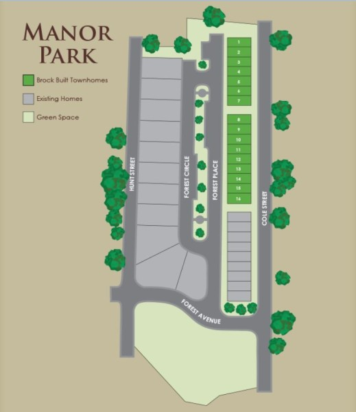 Brock Built Manor Park Townhomes