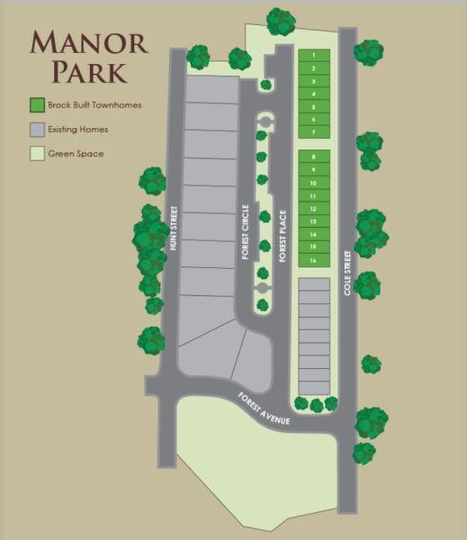 Brock Built Manor Park Townhomes